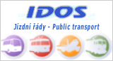 IDOS - Trains, Buses, All Public transport - Timetables