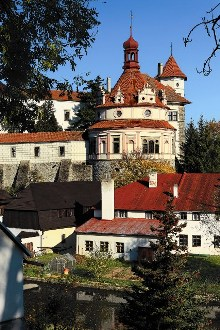 The Rondel is considered one of the most beautiful renaissance buildings in Bohemia., photo by: Ing. Libor Sváček, archiv Vydavatelství MCU s.r.o.