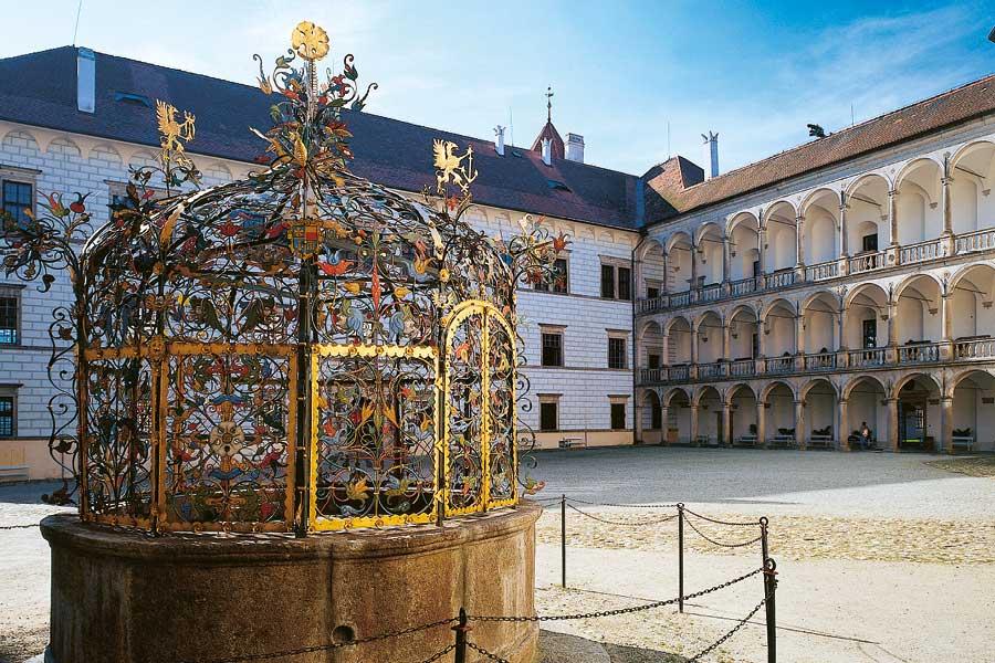 Státní hrad a zámek Jindřichův Hradec, foto: Archiv Vydavatelství MCU s.r.o.