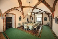 Jindřichův Hradec - The dining room is equipped with a mobiliary originally used in the Jemčina castle (route A, C), photo by: Archiv Vydavatelství MCU s.r.o.
